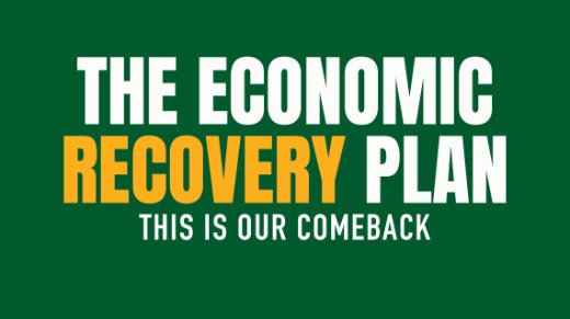 The Economic Recovery Plan. This is our comeback.